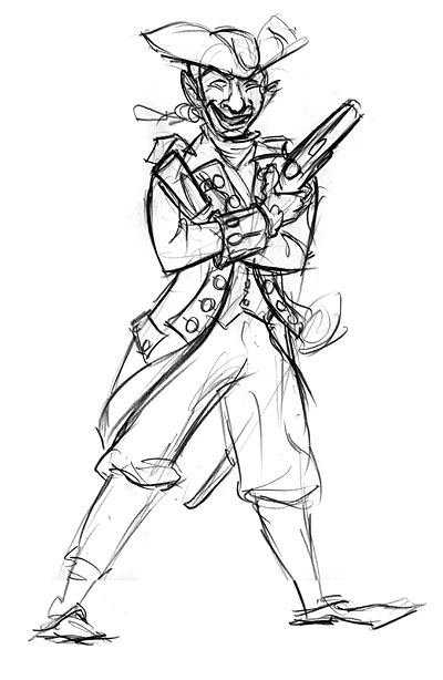 Colonial Development Simple Drawing : How to draw colonial soldiers