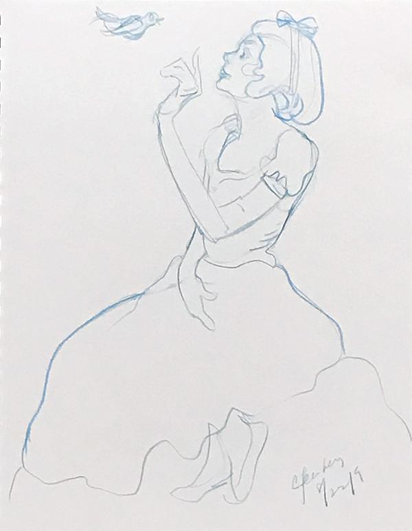 Snow White Journal Art Stacy Aoyama