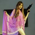 Debra Haden in our Bond Girl theme, 5 to 15 min poses.