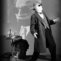 John Mackey as The Invisible Man, 5 to 15 min poses.
