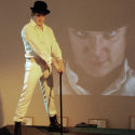 Keith Klanderud in our Clockwork Orange theme, 5 to 15 min poses.