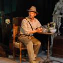 Len Nissenson as Indiana Jones, 3 hour long pose.