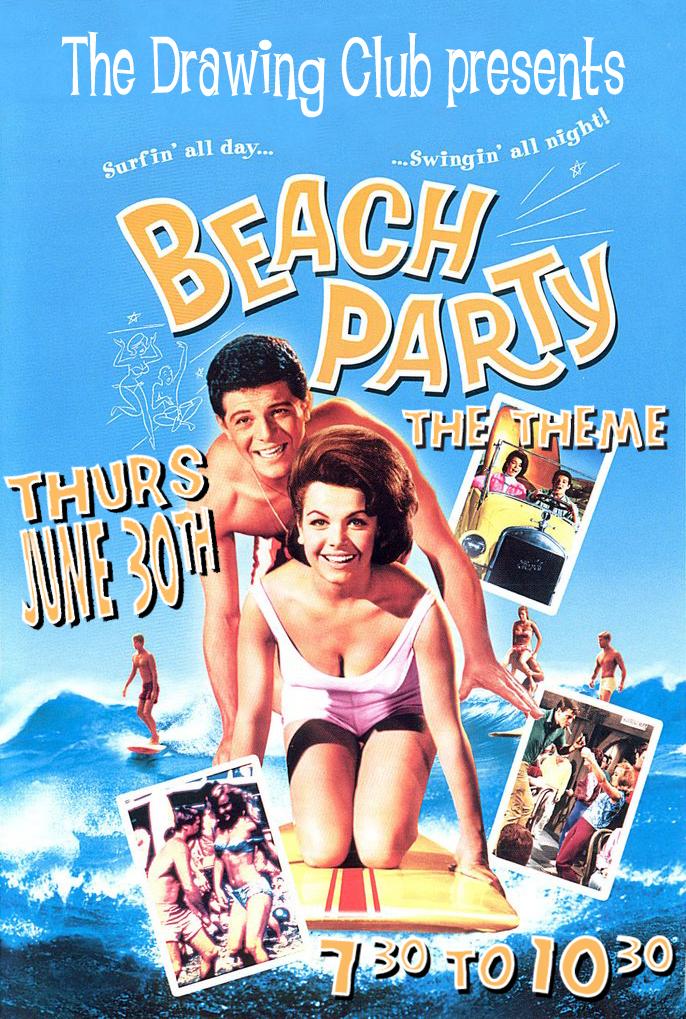 TDC Beach Party Theme