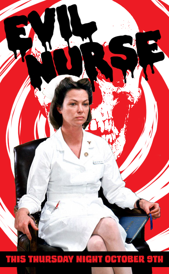 Tdc Nurse Ratched Poster The Drawing Club